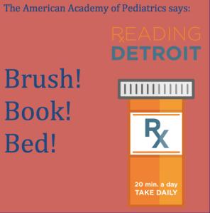 Brush, Books, Bed!