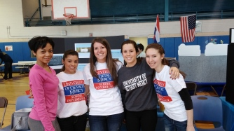 The UDM team! Renesha Smoot Grafton, Sandybel Quintana, Kristin Hnatio, Nancy VanRaemdonck, Erika Turak. Not pictured: Heather Bishop and Erin Henze.