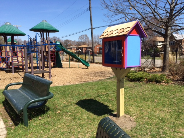 The RX for Reading Little Free Library in the Gesu Community Green