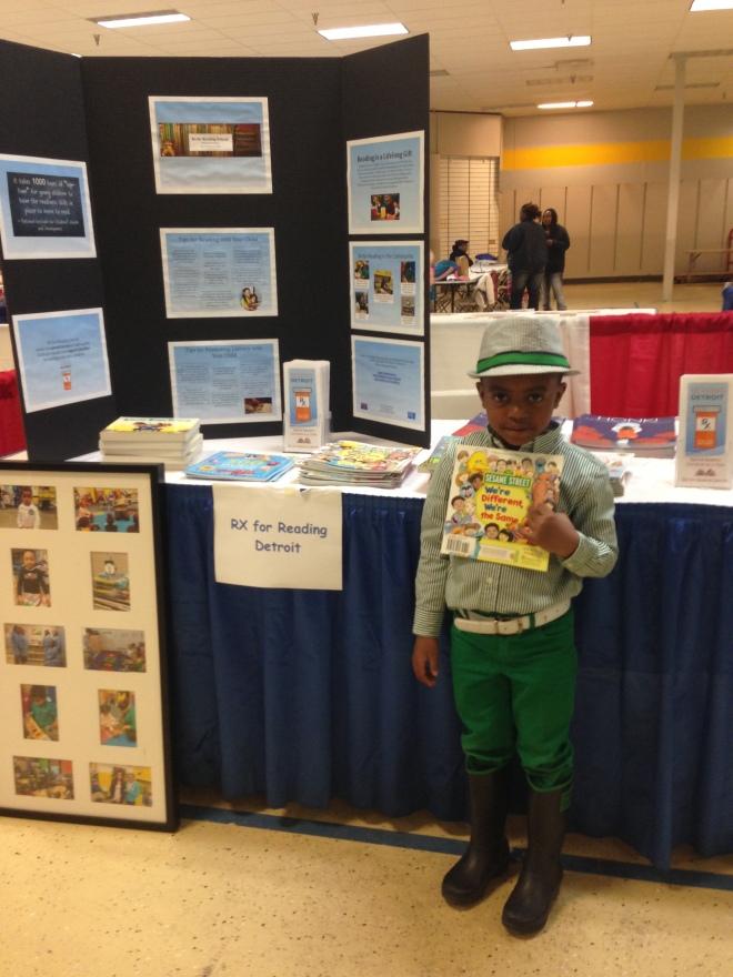 Kamari, rocking fashion and his new Sesame Street Book