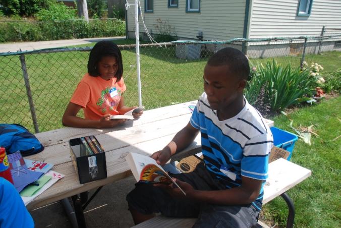More summer reading at Minock Park.